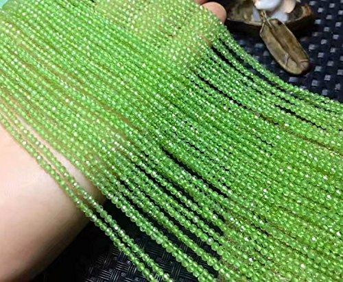 AAA+ Peridot garnet citrine lapis beads Round faceted Beads,Apatite Amazite aquamarine beryl Gemstonejewelry beads 2-4mm Full strand 16