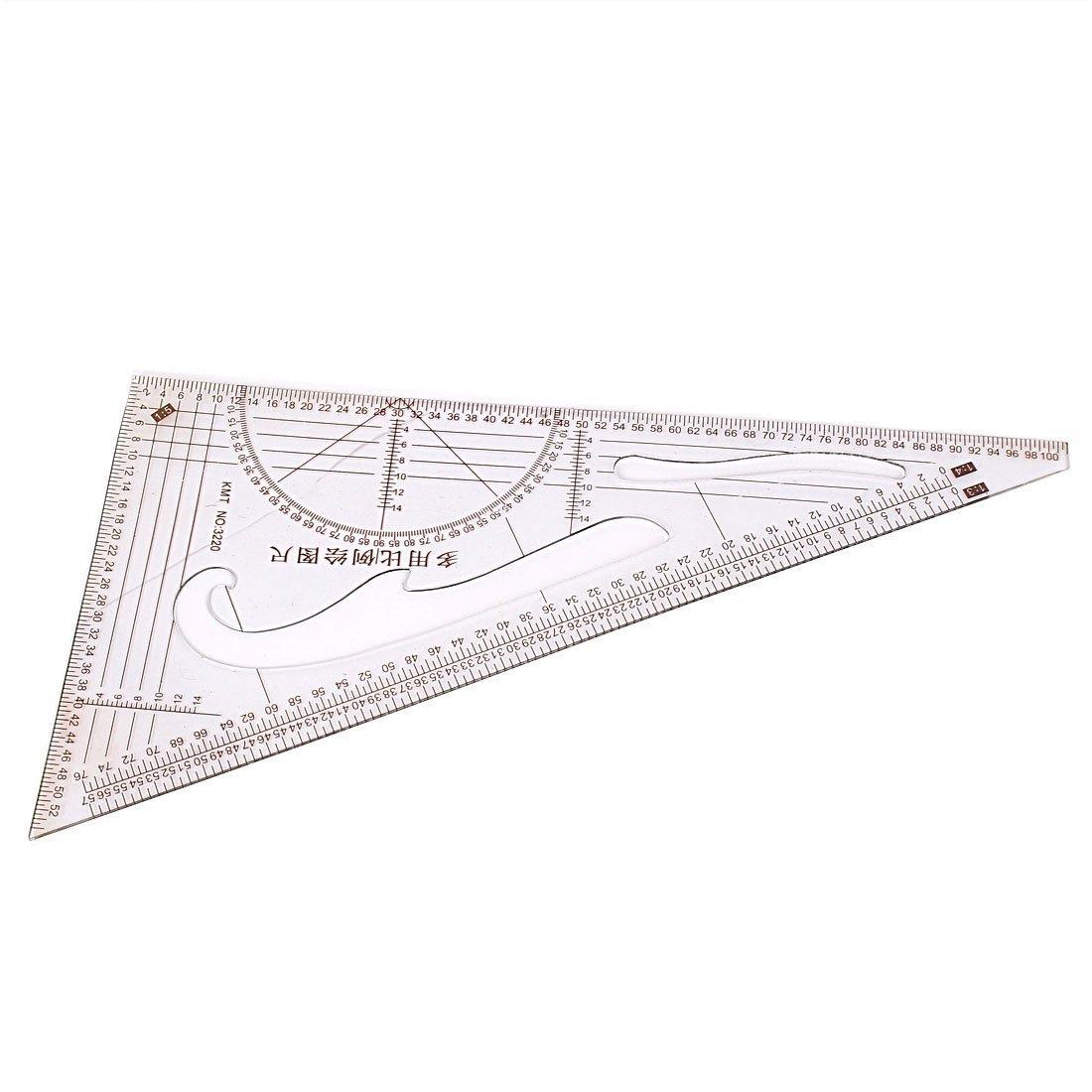 eDealMax 1: 3 1: 4 1: 5 Proporción Triángulo Regla de la Escala Para la ropa Medida: Amazon.com: Industrial & Scientific