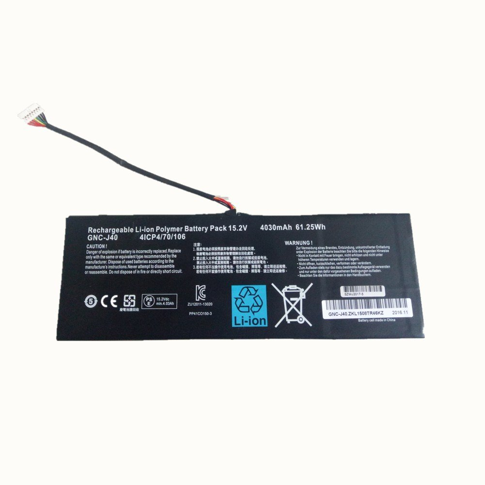 New Replacement 152v 4030mah 6125wh Laptop Battery Gnc Toshiba Satellite P35 Schematic Diagramla2371 J40 961ta013f For Gigabyte P34f P34g P34k P34w V2 V3 V5 V7 Series Computers