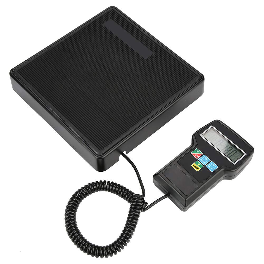 Refrigerant Scale, Electric Refrigerant Charging Scale Portable RCS-7040 Digital Electronic Scale with LCD Digital Display Protecting Case
