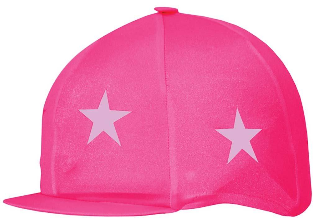 Para montar a caballo revestimiento de licra Capz, unisex, color - Cerise/Pink Stars, tamaño talla única