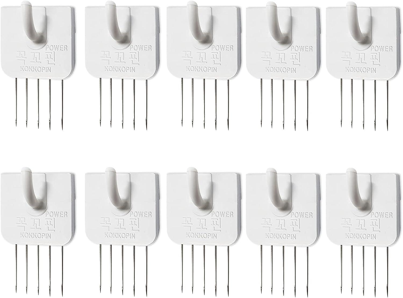 Multipurpose Cubicle Hooks. U Shape Wall Hooks(10PCS) Office Fabric Panel Hanger Home Kitchen