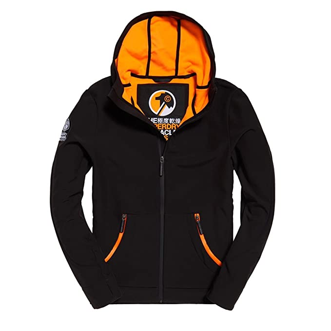 CHAQUETA SUPERDRY M50002LP-43A Negro: Amazon.es: Ropa y ...