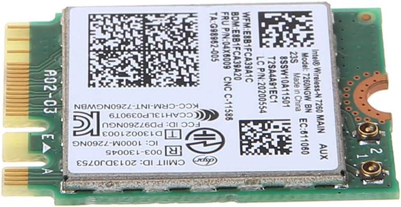 lenovo Thinkpad T440 W540 L440 T450P Intel 7260ngw BN Wireless WLAN Card 04W3830