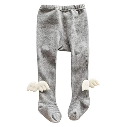 aff0af64fd2 Amazon.com  Birdfly Toddler Baby Cute Ribbed Leggings with Little ...