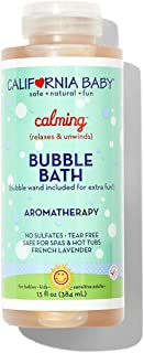 product image for California Baby Bubble Bath, Calming, 13 oz Bottle