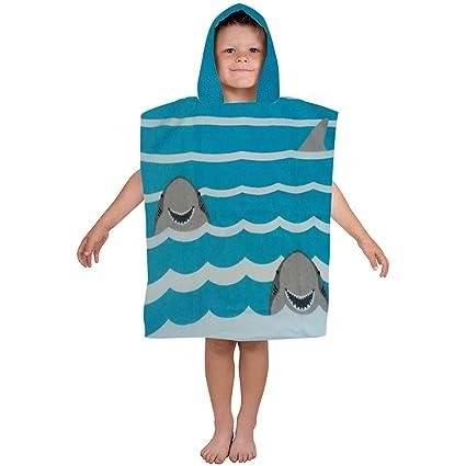 Athom Trendz Kids Hooded 350 GSM Cotton Bath Towel - Multicolour