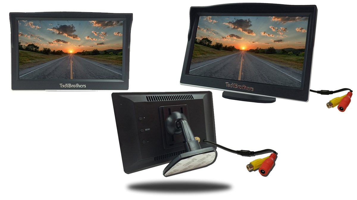 61EJLfI88ZL._SL1200_ amazon com tadibrothers 5 inch monitor with wireless license  at mifinder.co