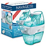 Navage Nasal Care Starter Bundle: Navage Nose Cleaner and 18 SaltPods, plus New User Starter Gift of 10 SaltPods