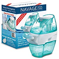 Navage Nasal Care Starter Bundle: Navage Nose Cleaner and 18 SaltPod Capsules