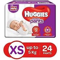 Huggies Wonder Pants Extra Small Size Diaper Pants, 24 Count
