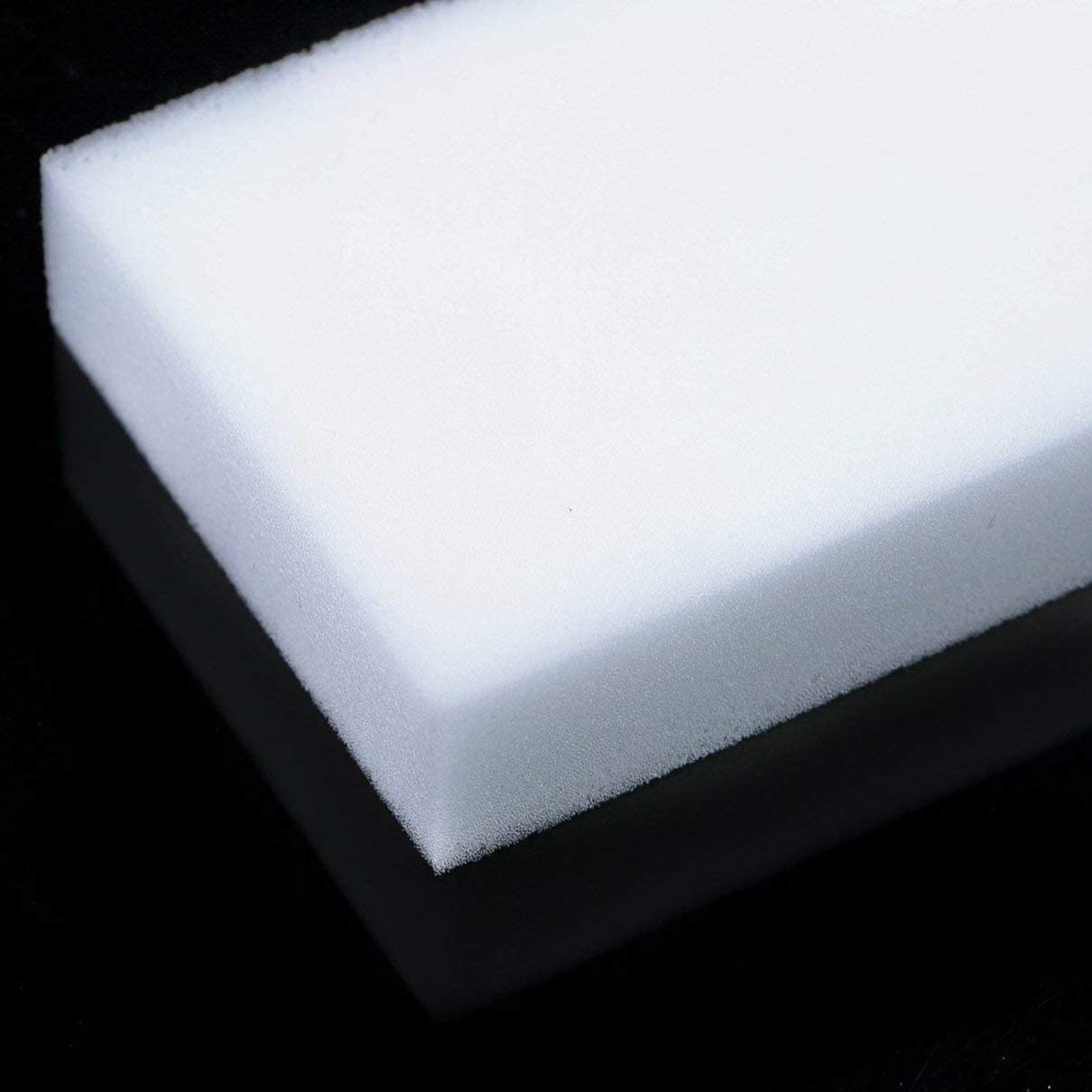 10 pcs Magic Sponge Eraser Clean Nettoyage Nettoyant en mousse multifonctionnel Blanc fghfhfgjdfj