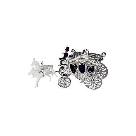 1 Kleine Silberkutsche Fur Hochzeitstorten Silberne Hochzeit