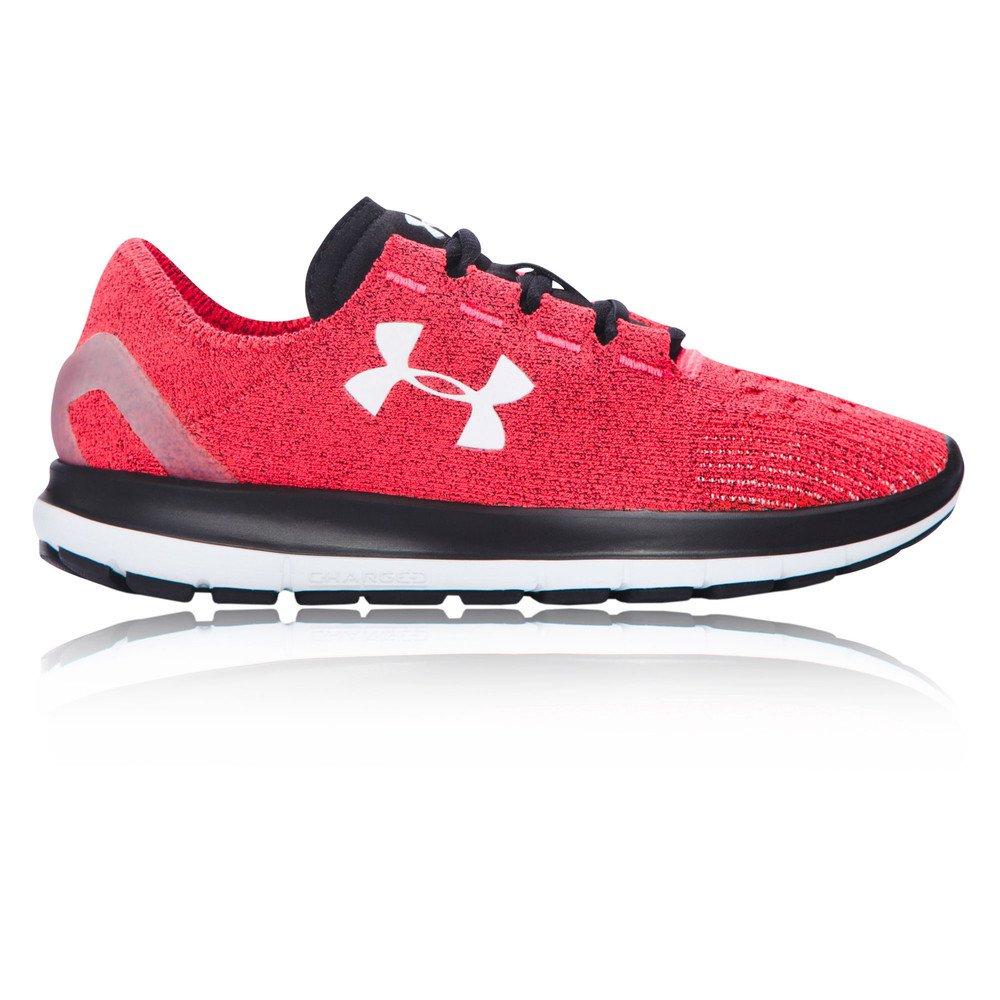 Under Armour Women's Speedform Slingride Tri Running Shoe, Overcast Gray/Glacier Gray/Marlin Blue B018EZU7PA 12 B(M) US PINK CHROMA/White/Black