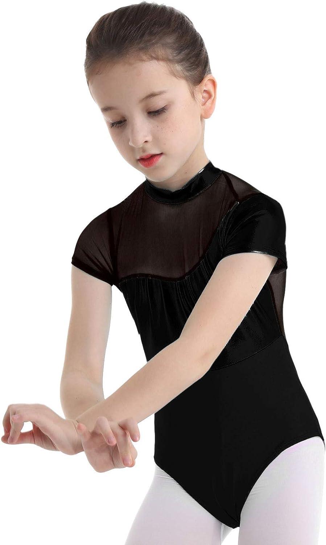 Mädchen Schlank Stabile Klassische Kamisol Gymnastikanzug Ballett Trikot EM54