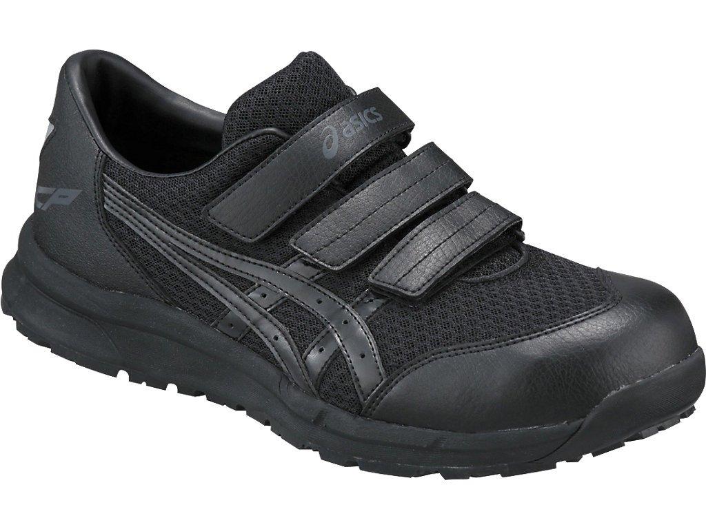 asics アシックス 安全靴 ウィンジョブ CP202 作業靴 ベルトタイプ FCP202 B07BNDSRSL 26.5 cm|ブラック/ブラック