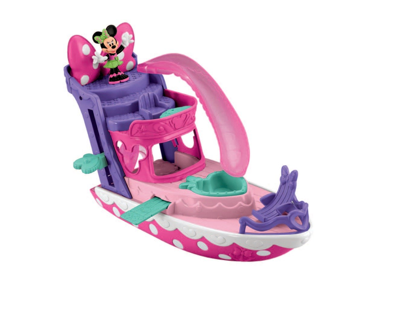 La Casa De Mickey Mouse - Yate de Minnie (Mattel Y1897): Amazon.es ...