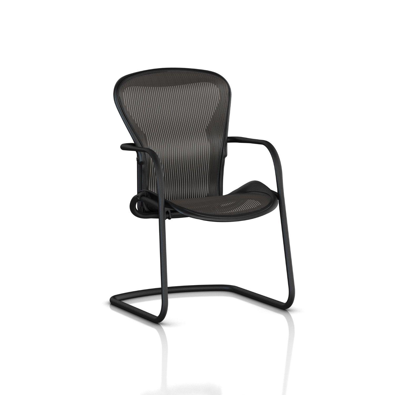 Aeron Side Chair - Amazon com herman miller classic aeron side chair graphite frame carbon classic pellicle kitchen dining