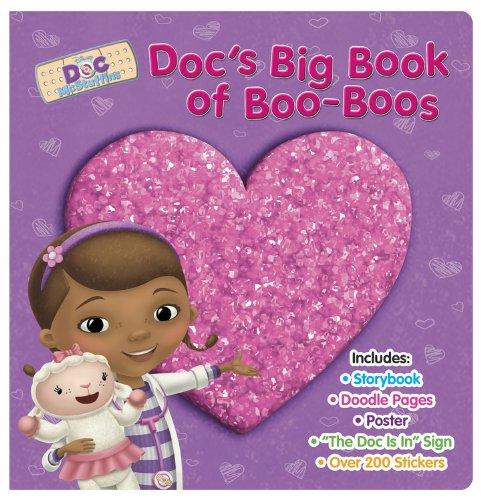 Doc McStuffins Docs Big Book of Boo-Boos (Disney Doc Mcstuffins)