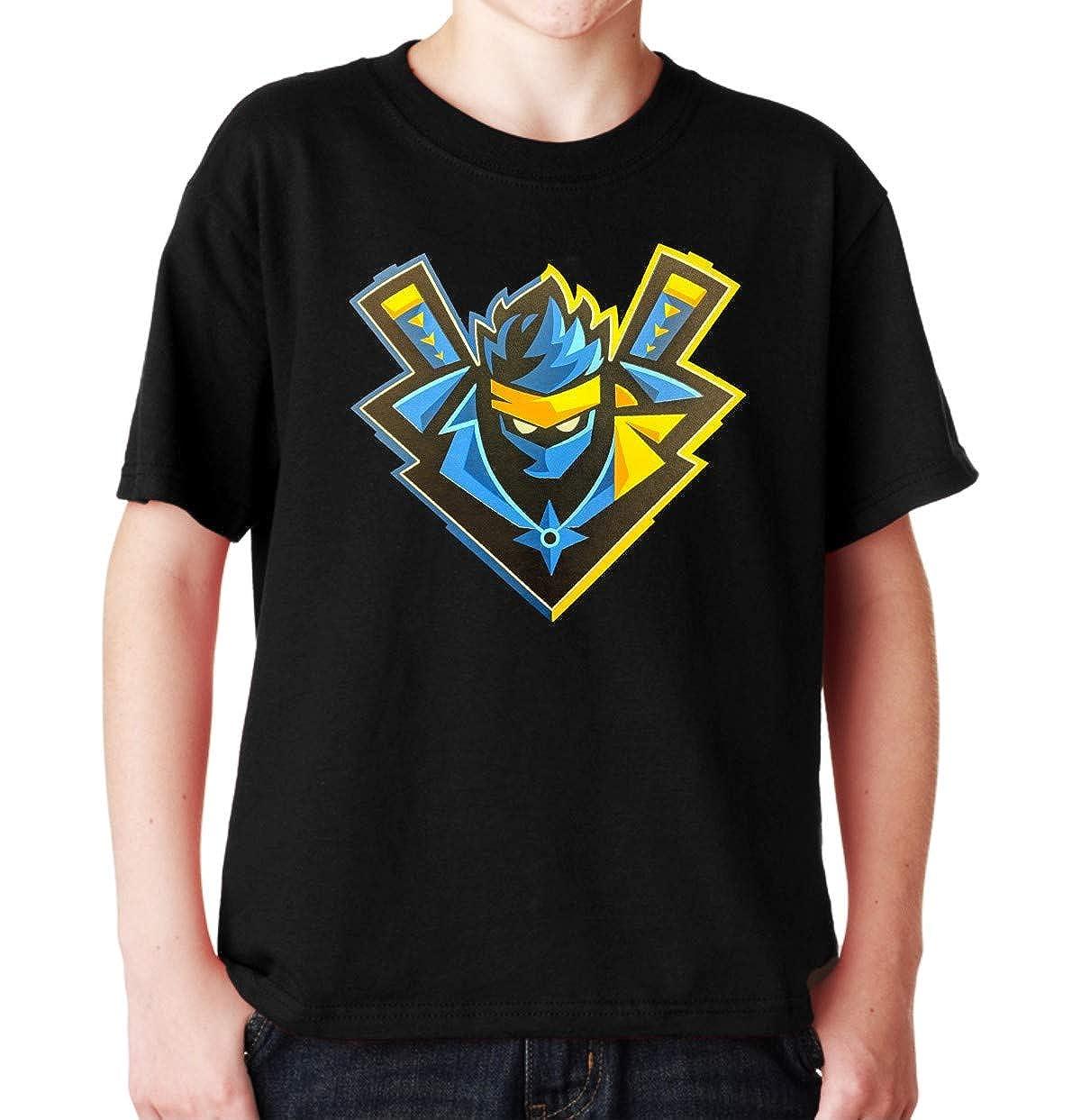 MYOS Youth for-tnite Ninja Logo Black Tshirt