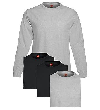 Hanes Men s Long Sleeve Comfort Soft T-Shirt  Amazon.ca  Clothing ... 3d865305b