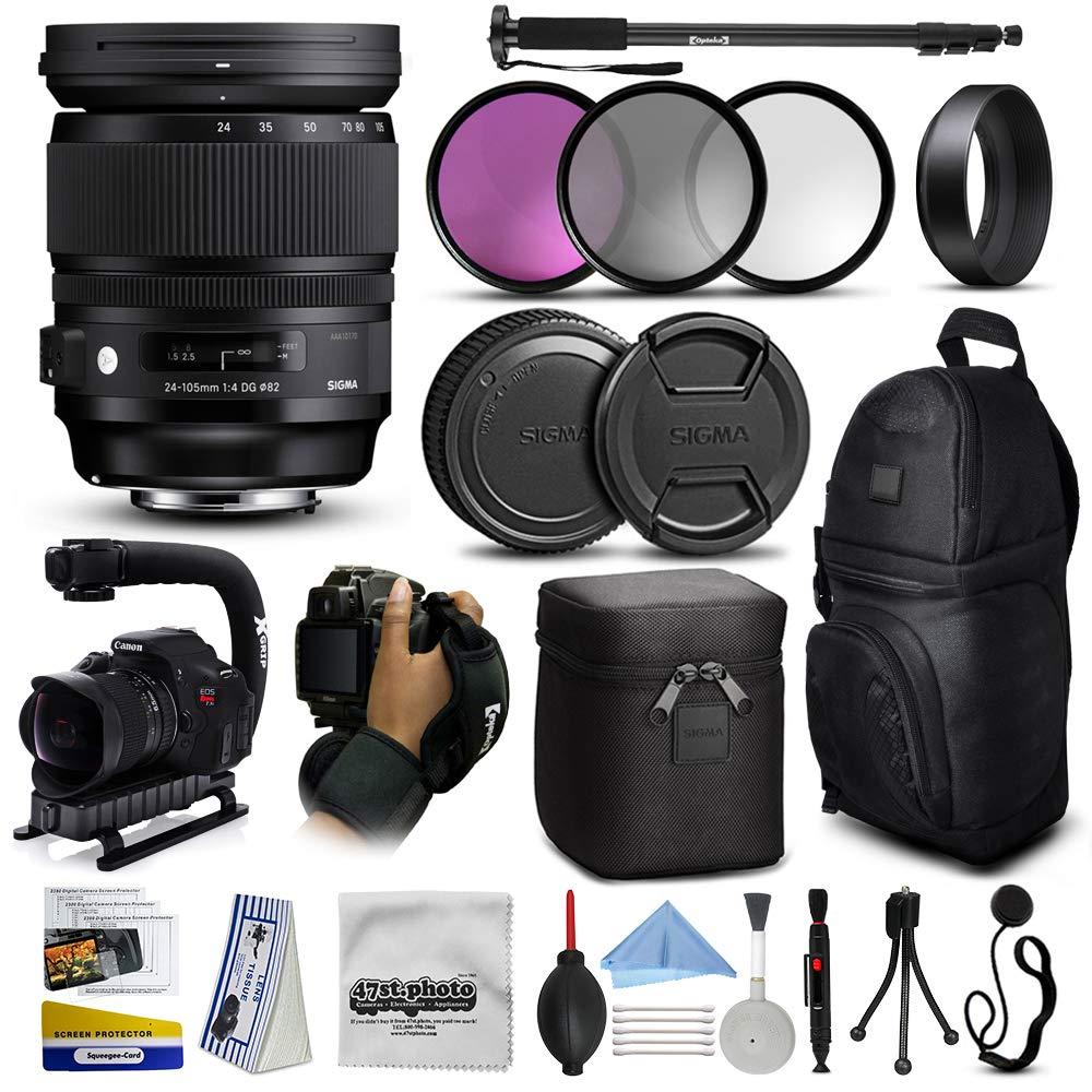 Sigma 635101 - Juego de lentes HSM para cámaras réflex digitales ...
