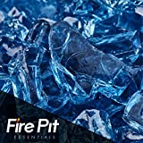 Harbor Mist Fire Glass 1/2'' Firepit Glass Premium 10 Pound Great for Fire Pit Fireglass or Fireplace Glass