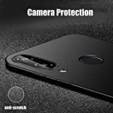 SmartLike Shockproof Silicone Back Cover for Huawei Honor Play - Black