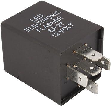 12v 3 Broches Électronique Relais Clignotant Voiture Universel Camionnette,