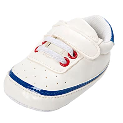 e35c65d9f Longra 0-18mois Chaussures en Cuir Enfants Hiver Bébé Filles Garçons ...