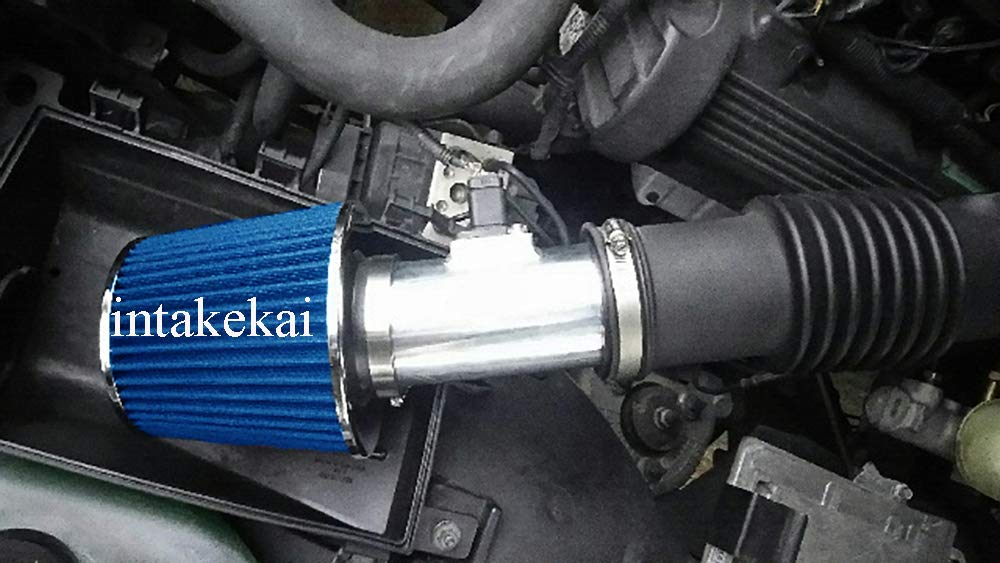 BLUE PERFORMANCE SHORT RAM AIR INTAKE KIT FOR 2005-2011 FORD CROWN VICTORIA//MERCURY GRAND MARQUIS 4.6 4.6L V8 ENGINE