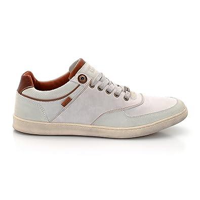 887d5df2f5a73 Levi s , Chaussures spécial tennis pour homme - Blanc - Bianco, 41 ...