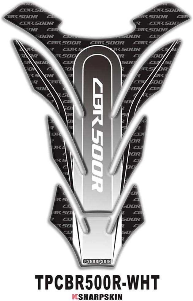 psler Sticker garniture de r/éservoir de moto 3D pour CB1000R Rouge