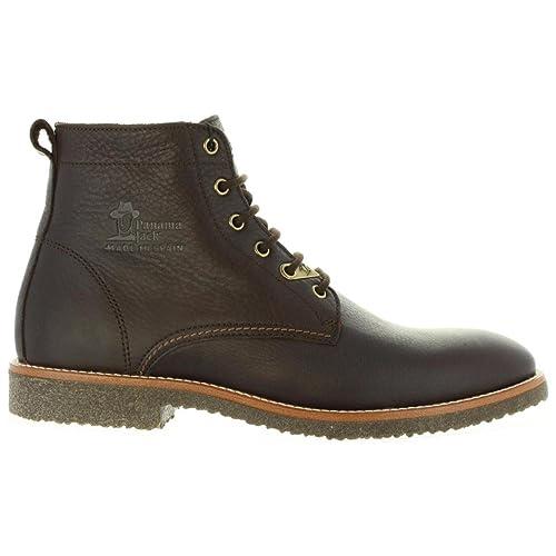 Botines de Hombre PANAMA JACK GLASGOW C5 NAPA GRASS MARRON Talla 44: Amazon.es: Zapatos y complementos