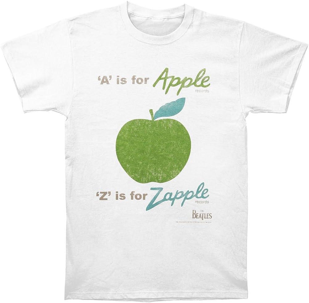 Beatles Men's A is for Apple Vintage T-Shirt Vintage