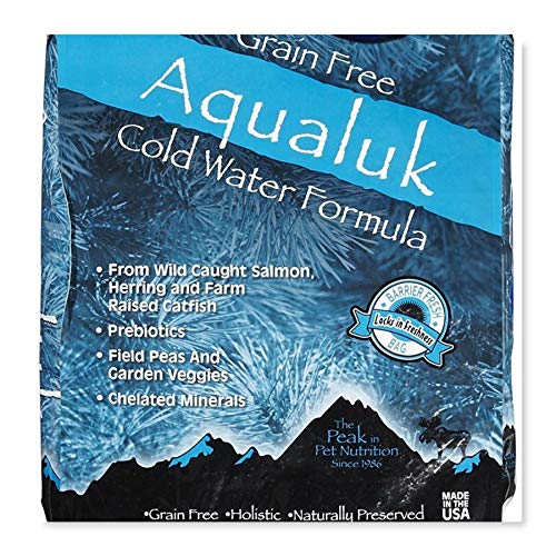 Annamaet Aqualuk Cold Water Fish Dry Dog Food 25 lb. Bag Grain Free Dog Food.