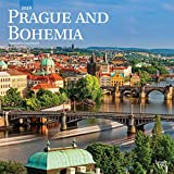Prague and Bohemia 2020 12 x 12 Inch Monthly Square Wall Calendar, Scenic Travel Europe Czech Republic