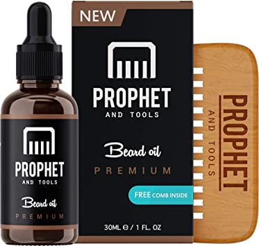 Prophet and Tools ¡Conjunto de peine de barba y aceite de barba ...