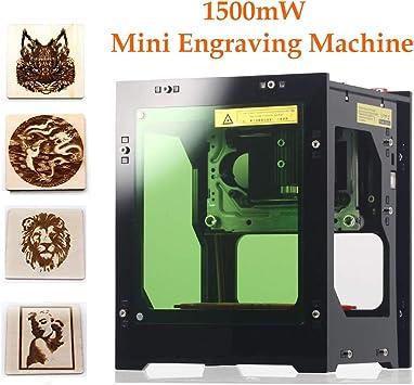 Grabador láser impresora, 1000 mW 490 x 490 píxeles, mini máquina ...