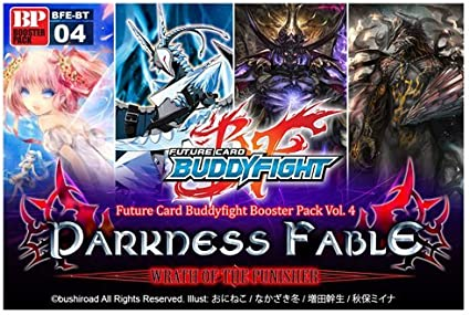 Future Card Buddy Fight Darkness Fable Booster Pack