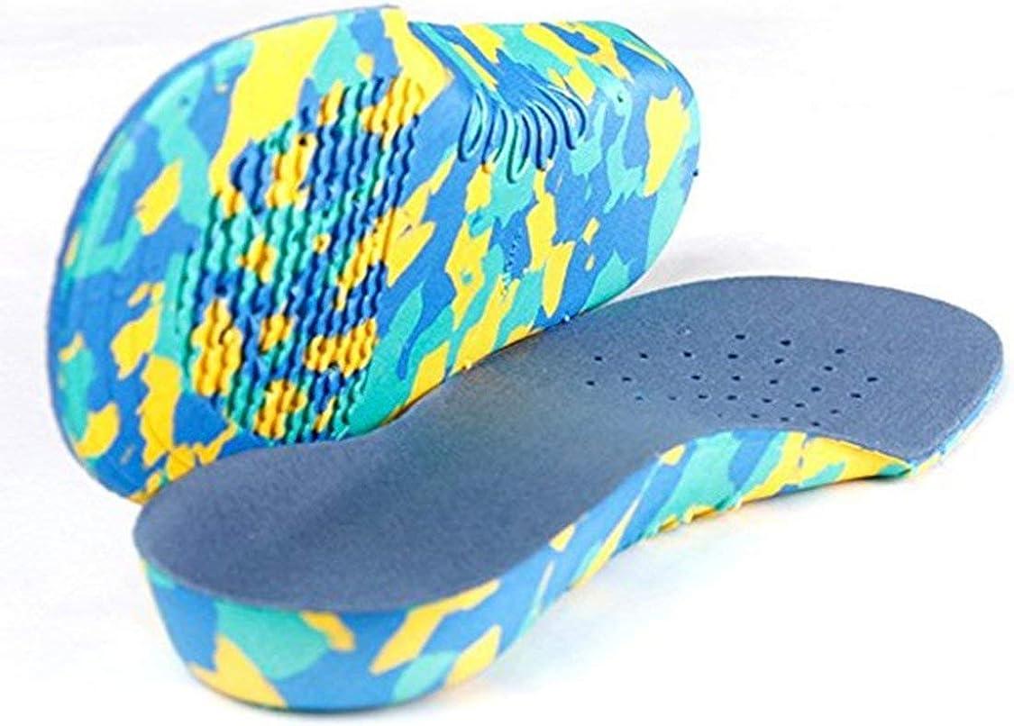 FancyswES8eety Plantillas ortopédicas de arco para niños creativos Inserciones de longitud completa para pies planos Equipamiento esencial