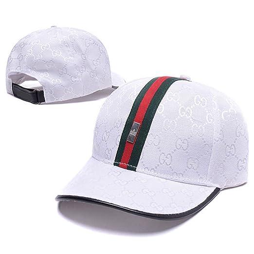 591ad71db47 Bees Men Women Snapback Adjustable Hip-hop Unisex Golf Baseball Cap Hat (2  White) at Amazon Men s Clothing store