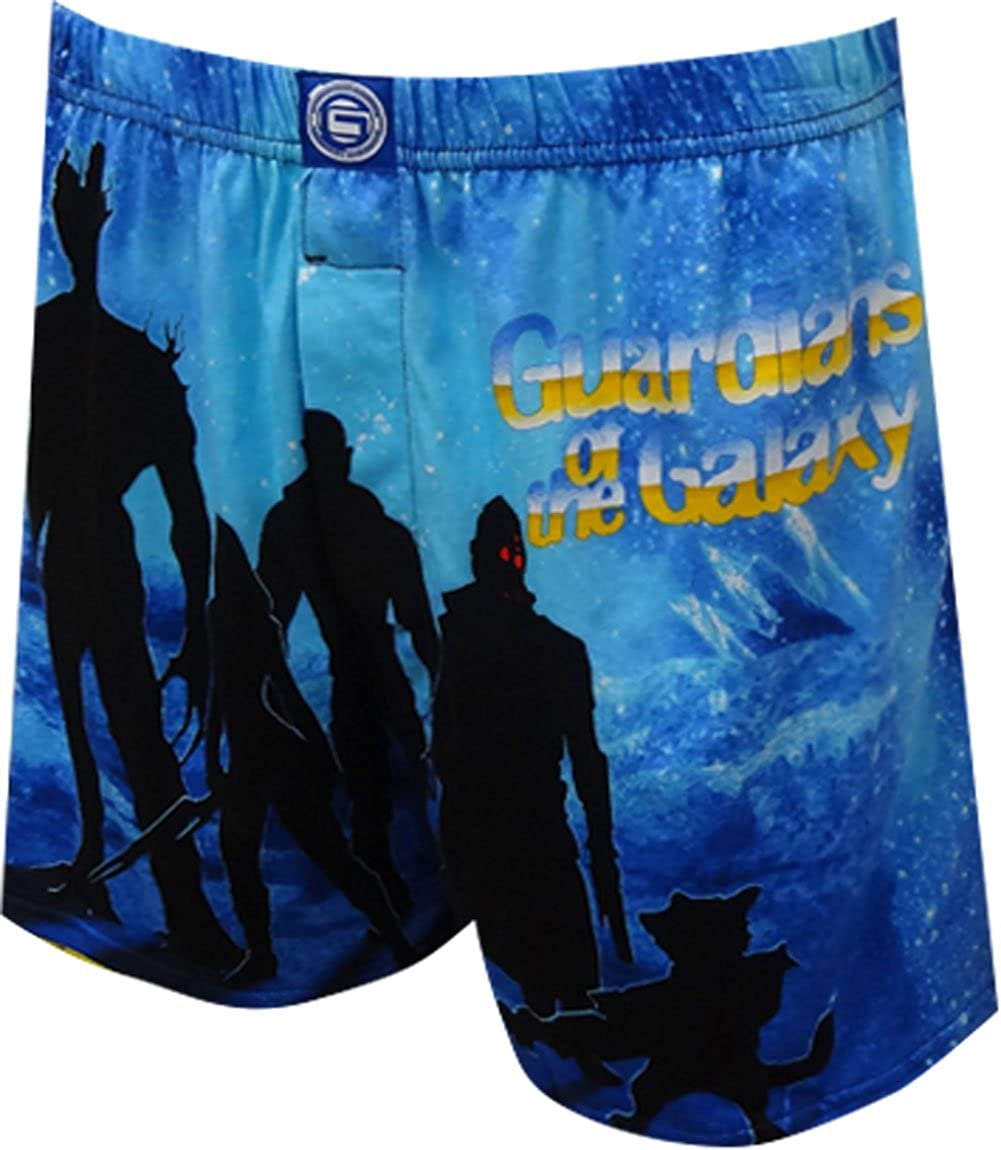 Briefly Stated Men's Marvel Comics Guardians Of The Galaxy Boxer Shorts (Small) GG010MBS