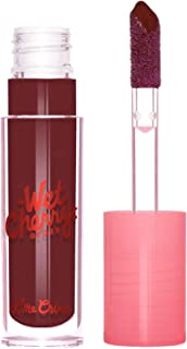 product image for Lime Crime Wet Cherry Lip Gloss, Diet Cherry - Deep Berry - High Shine, Non-Sticky Gloss - Cherry Scent - Lightweight Ultra Glossy Sheen - Won't Bleed or Crease - Vegan - 0.1 fl oz