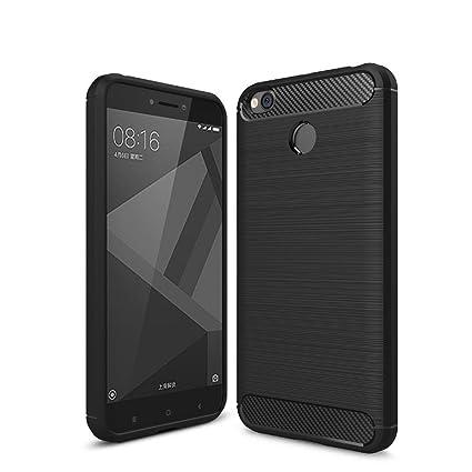 new product 1a350 c4b43 Qualstuff Back Cover for Redmi 4 (Black)