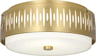 "product image for Robert Abbey Treble 20 1/2"" Wide Modern Brass Ceiling Light"