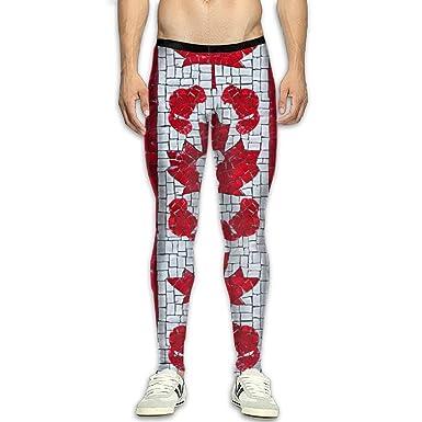 ab98deab1f85f3 Fri Maple Leaf Canada Compression Pants/Running Tights Workout Leggings Men  Drawstring