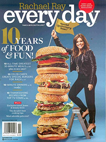 Rachael Ray Every Day Magazine November 2015