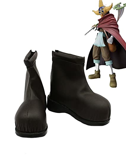 One Piece Anime Usopp Cosplay Shoes Boots Custom Made 2