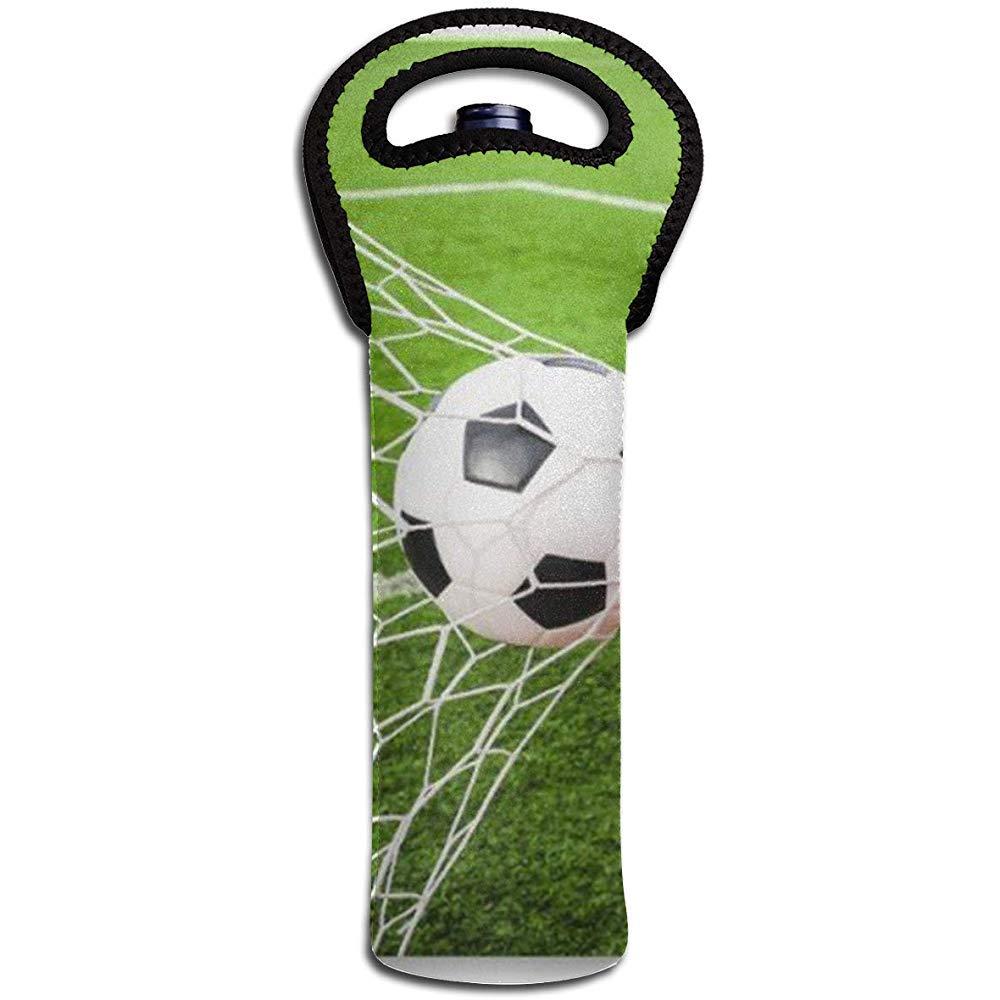 Balón de fútbol golpeando Goa Wine Tote Carrier Bag Monedero para ...